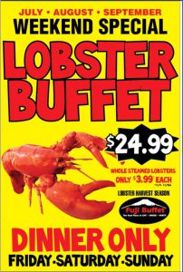 We are a lobster wholesaler in Michigan. All live, whole lobsters.